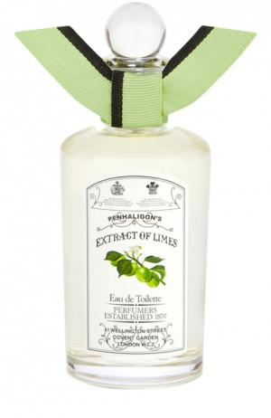 Туалетная вода Antology Extract of Limes Penhaligons Penhaligon's. Цвет: бесцветный
