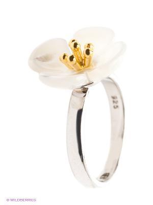 Кольцо BALEX. Цвет: серебристый, золотистый, белый