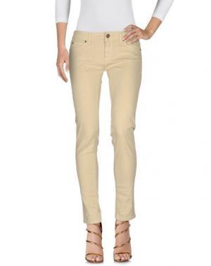 Джинсовые брюки BASICON. Цвет: бежевый