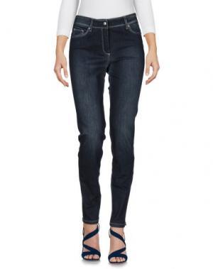 Джинсовые брюки -A-. Цвет: синий