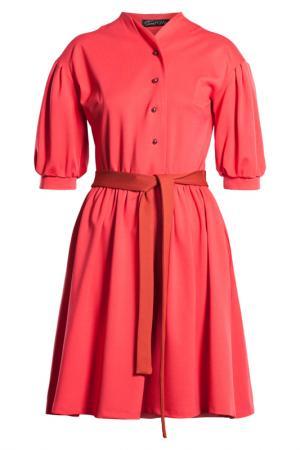 Платье SWEETME TM. Цвет: красный