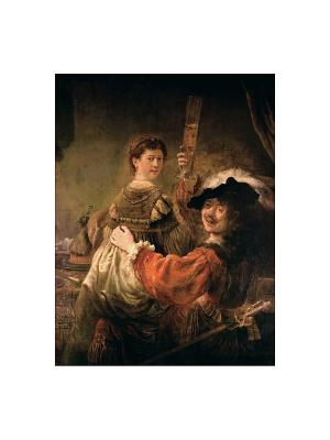 Рембрандт. Жизнь и творчество в 500 картинах Эксмо. Цвет: серый