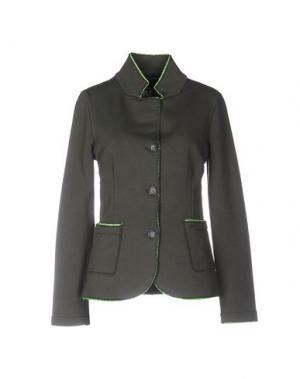 Пиджак PRAIO. Цвет: зеленый-милитари