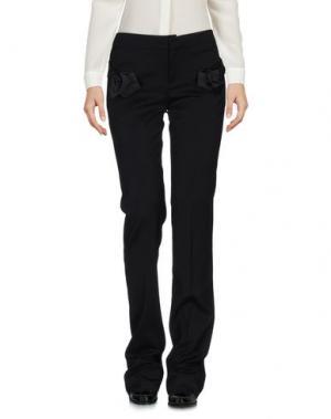 Повседневные брюки ALEXIS MABILLE. Цвет: черный