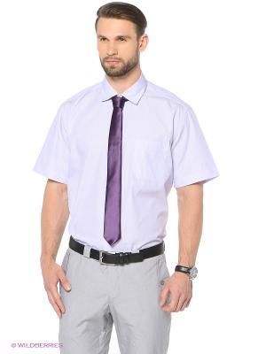 Рубашка KARFLORENS. Цвет: сиреневый