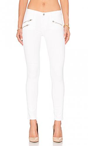 Узкие брюки с молнией billie Black Orchid. Цвет: none