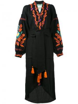 Платье Eden Tree Yuliya Magdych. Цвет: чёрный