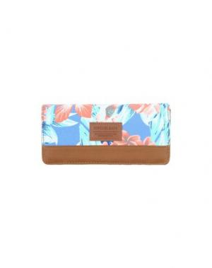 Бумажник RIPCURL. Цвет: коричневый