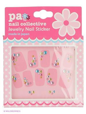Наклейки для ногтевого дизайна Счастливая Радуга PA NAIL COLLECTIVE Jewelry Sticker presents since 2004 ETERNAL. Цвет: серебристый