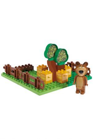 Конструктор Маша и Медведь BIG. Цвет: зеленый
