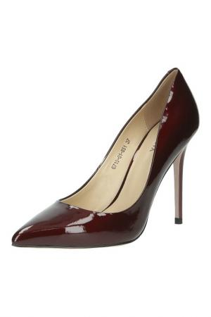 Туфли Felicita. Цвет: бордовый