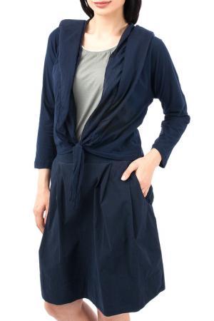 Жакет EUROPEAN CULTURE. Цвет: темно-синий