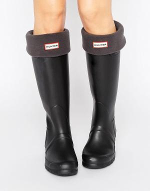 Hunter Серые носки Original. Цвет: серый
