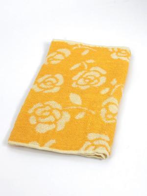Полотенце Цветы La Pastel. Цвет: желтый, белый