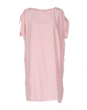 Короткое платье BRAND UNIQUE. Цвет: розовый