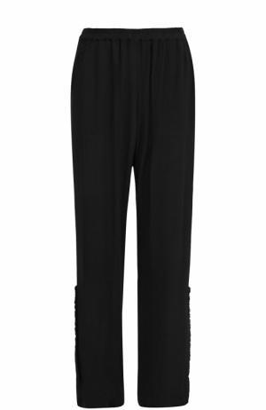 Расклешенные брюки с эластичным поясом Raquel Allegra. Цвет: черный