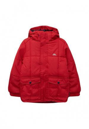 Куртка утепленная Trespass. Цвет: красный