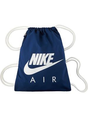 Мешок для обуви HERITAGE GMSK 1 - AOP Nike. Цвет: синий, белый