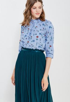 Блуза Tom Tailor Denim. Цвет: голубой