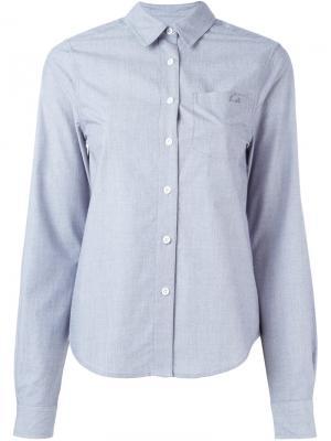 Рубашка  By Kate Moss Equipment. Цвет: серый