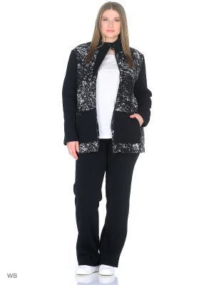 Утепленный спортивный костюм FORLIFE. Цвет: черный