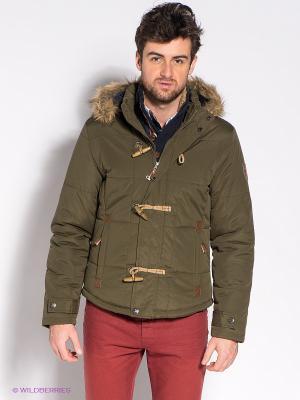Куртка Mezaguz. Цвет: хаки