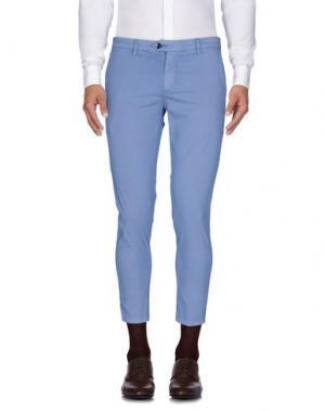 Повседневные брюки TAKESHY KUROSAWA. Цвет: пастельно-синий