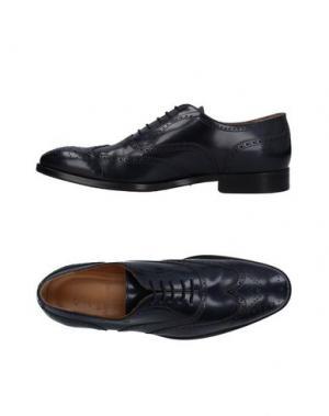 Обувь на шнурках SUTOR MANTELLASSI. Цвет: темно-синий