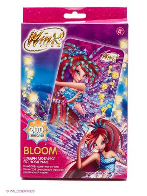 Winx Мозаика -сингл Bloom Чудо-творчество. Цвет: розовый, голубой, фиолетовый