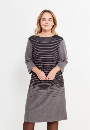Платье Intikoma. Цвет: серый