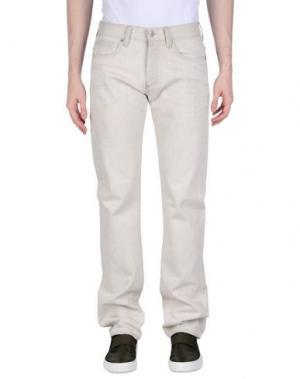Джинсовые брюки RING. Цвет: светло-серый