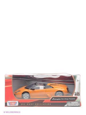Машинка коллекционная Laмborghini Murcielago Roadster Motormax. Цвет: оранжевый