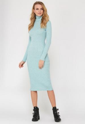 Платье Verna Sebe. Цвет: бирюзовый