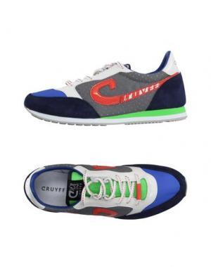 Низкие кеды и кроссовки CRUYFF. Цвет: синий