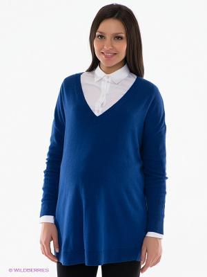 Пуловер Isabella Oliver. Цвет: синий