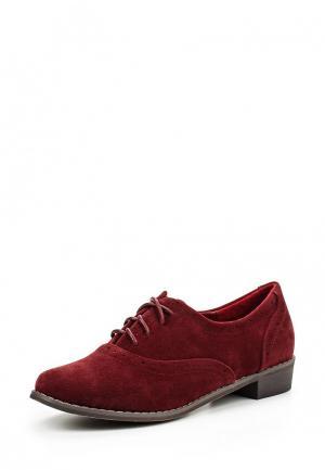 Ботинки Playgirl. Цвет: бордовый