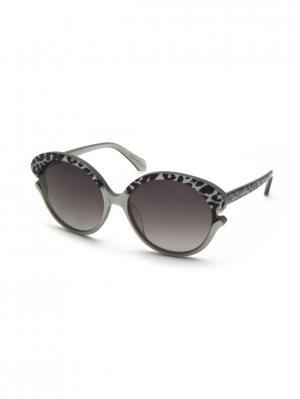 Солнцезащитные очки Vivienne Westwood. Цвет: черный, серый