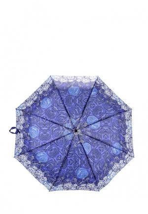 Зонт складной Elisabeth. Цвет: фиолетовый