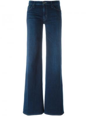 Расклешенные брюки Hudson. Цвет: синий