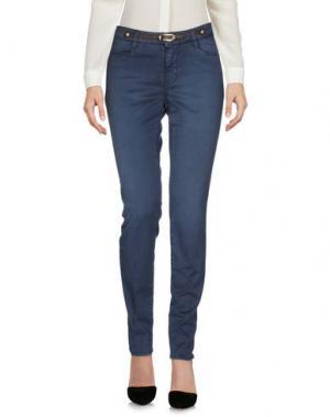 Повседневные брюки JECKERSON. Цвет: грифельно-синий