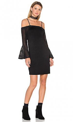 Платье annalia Ella Moss. Цвет: черный