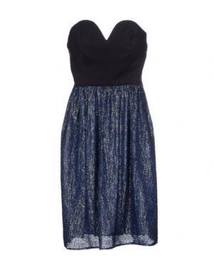 Короткое платье LES PRAIRIES DE PARIS. Цвет: синий