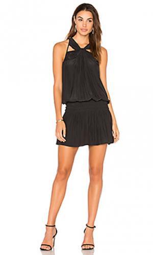 Платье fiona RAMY BROOK. Цвет: черный
