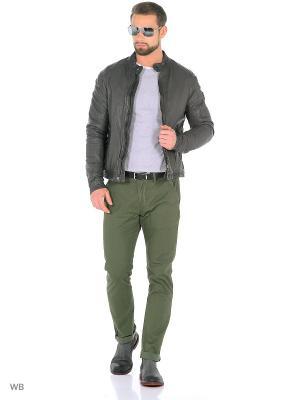Куртка MERCEDES-BENZ. Цвет: серый