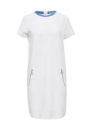 Платье Modis. Цвет: белый