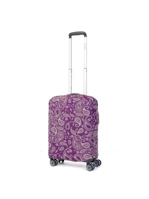 Чехол для чемодана Mettle, Модель Teness, Размер  S Mettle. Цвет: темно-фиолетовый, желтый