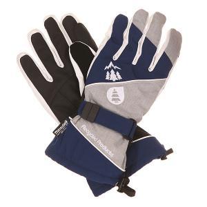 Перчатки  Aramis Glove Dark Blue/Grey Picture Organic. Цвет: синий,серый,черный