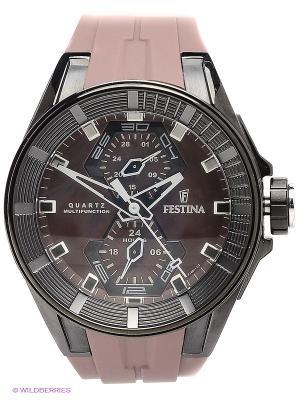 Часы Festina. Цвет: серо-коричневый