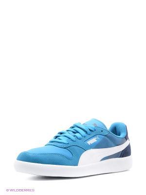 Кеды Puma. Цвет: голубой