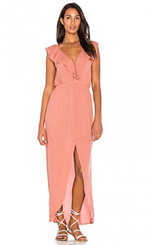 Платье bogota YFB CLOTHING. Цвет: rose